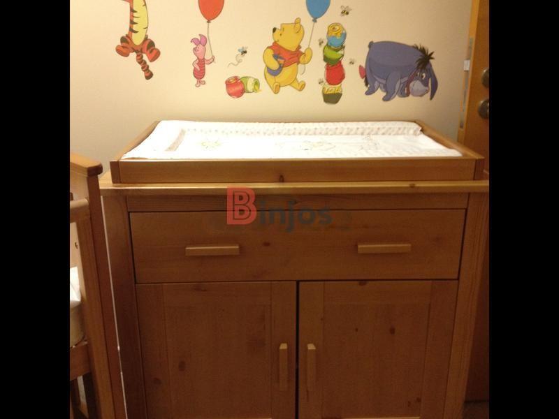 Binjos | Full Nursery Set - Crib-Cot / Changing Table / Storage Cabinet Mothercare & Binjos | Full Nursery Set - Crib-Cot / Changing Table / Storage ...